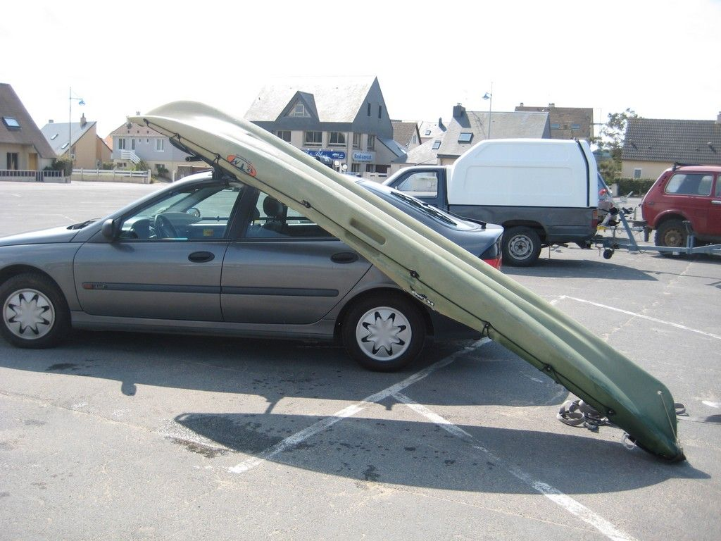 support toit pour kayak